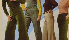 Klädesplagg från 70-tals galleriet